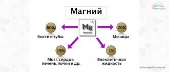 Дефицит магния — симптомы и восполнение его запасов